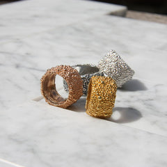 Darius Collection Wide Band Ring