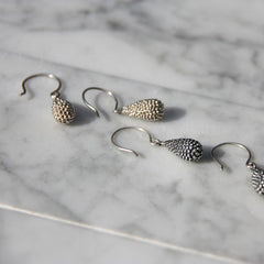 Xerxes Collection Teardrop Earrings on Wire
