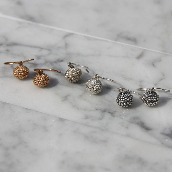 Xerxes Collection Grenade Earrings on Wire