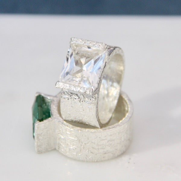 Trashed Collection Hitman Ring