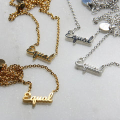 TLB Collection Equal Necklace