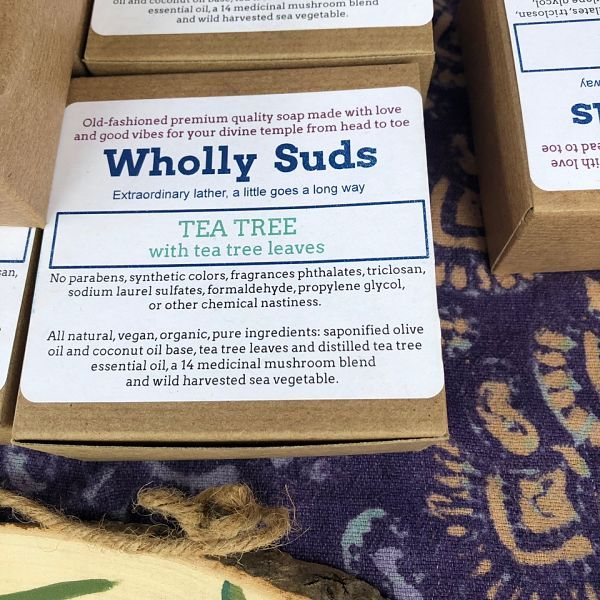 Wholly Suds Old Fashioned Premium Quality Soap