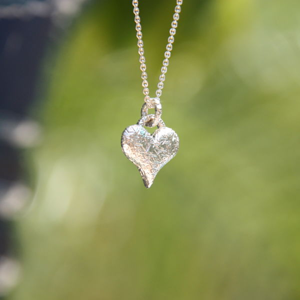 Trashed Collection Charm Heart Pendant