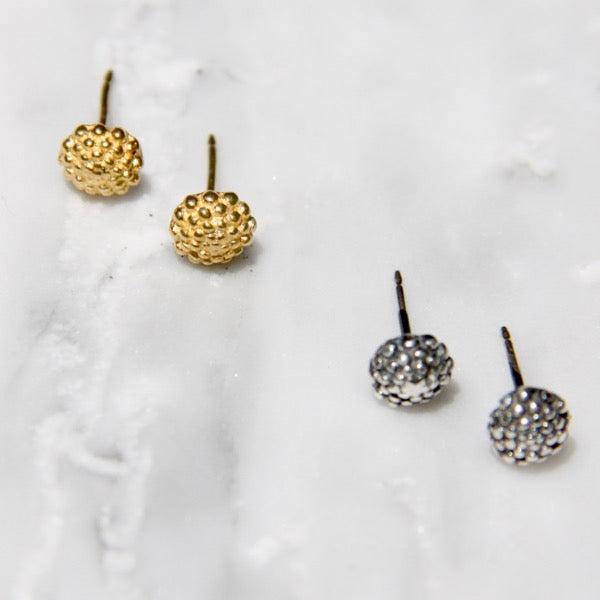 Xerxes Collection Spot Earrings on Post