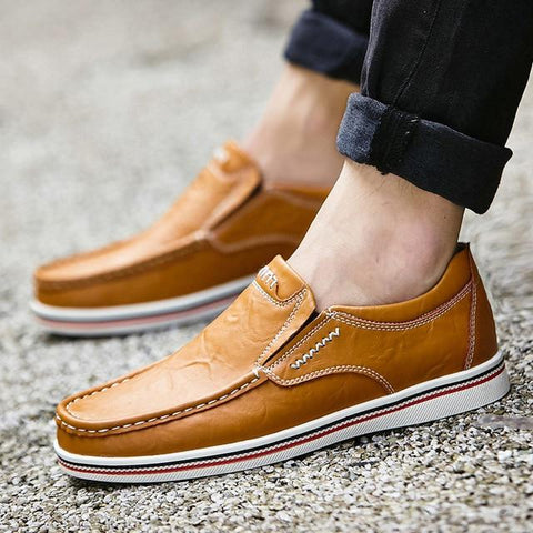 Men's Hand Sewn Leather Loafers/Oxfords