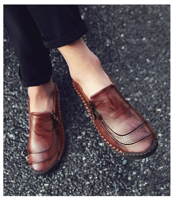 Men's Classic Leather Loafers