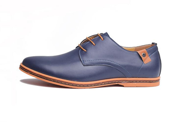 Men's Comfortable Leather Oxfords