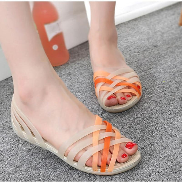 Women's Colorful Slip On Sandals