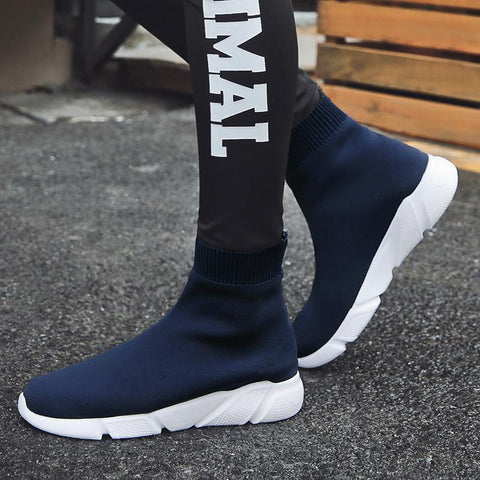 Women's Knit High Top Sneakers