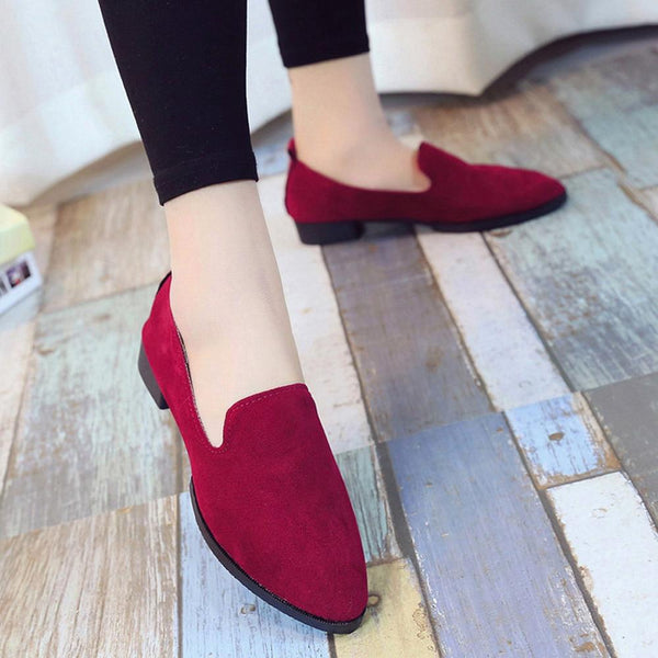 Women's Casual Suede Loafers/Ballet Flats