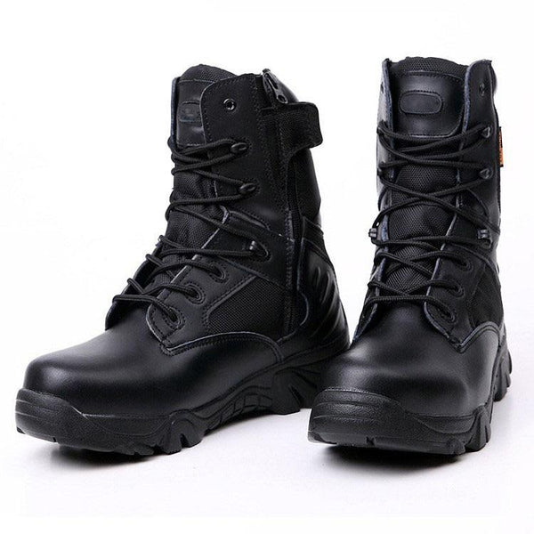 Men's Handmade Waterproof Combat Boots