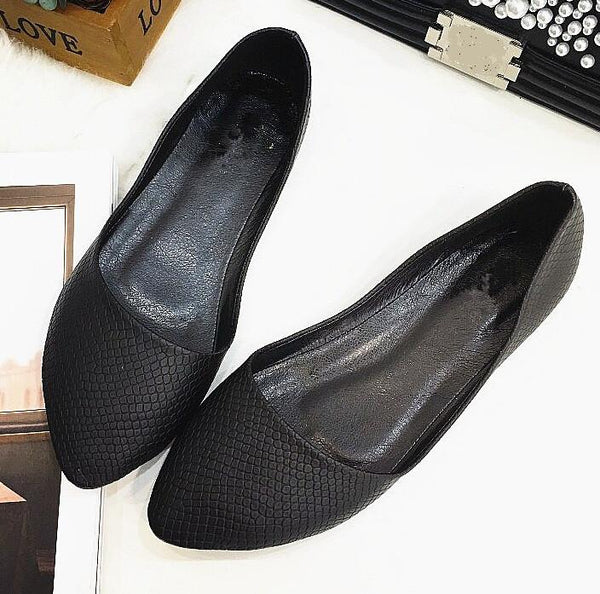Women's Pointed Toe Flats (different styles and colors available)