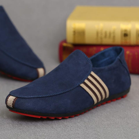 Men's Suede Leather Loafers