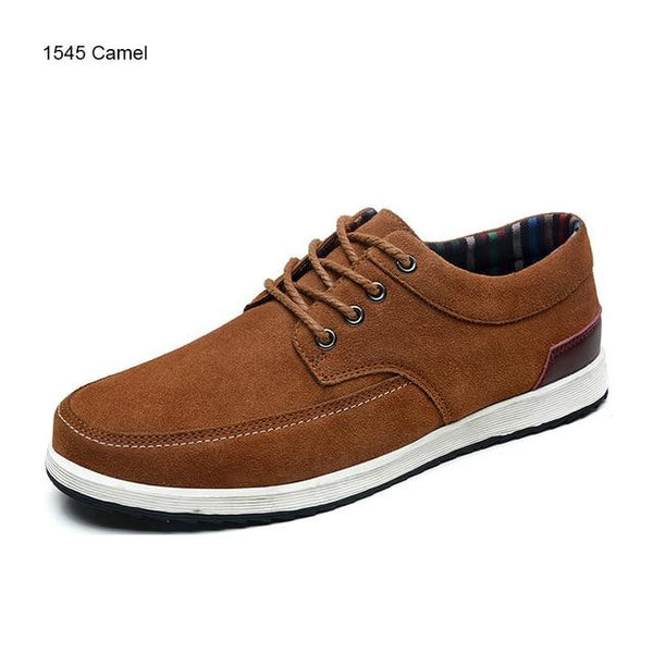Men's Casual Leather Oxfords/Loafers