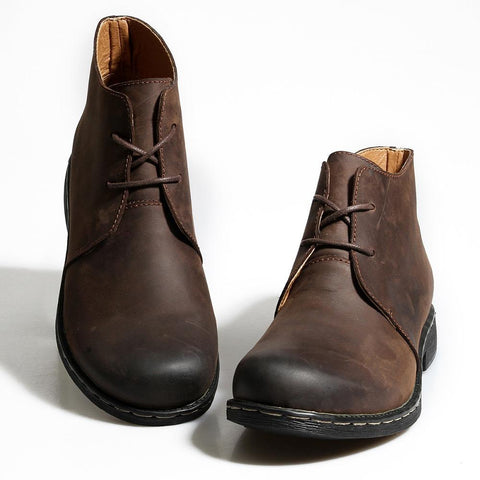 Men's Hand-Made Genuine Leather Boots