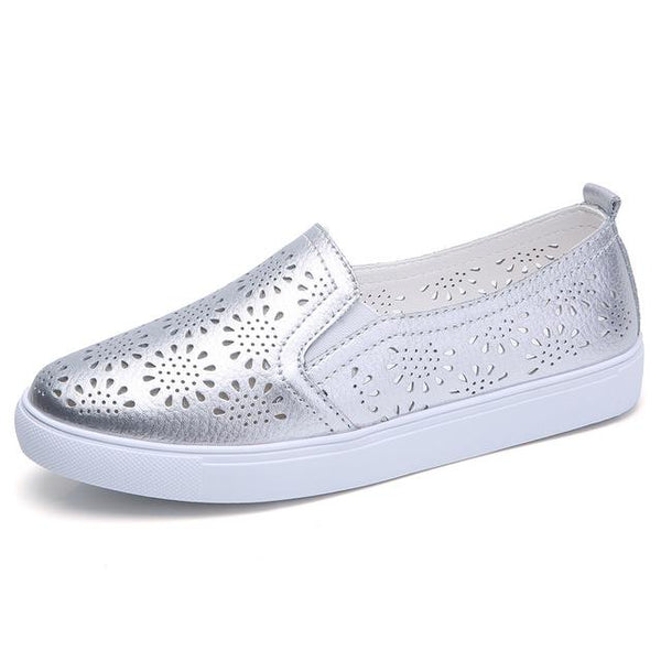 Women's Cutout Loafers/Flats