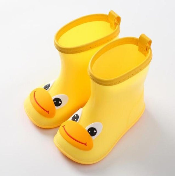 Children's Cartoon Rubber Rain Boots (laces are optional)
