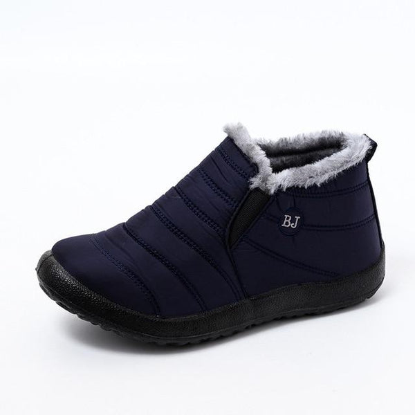 Women's Plush Ankle Boots