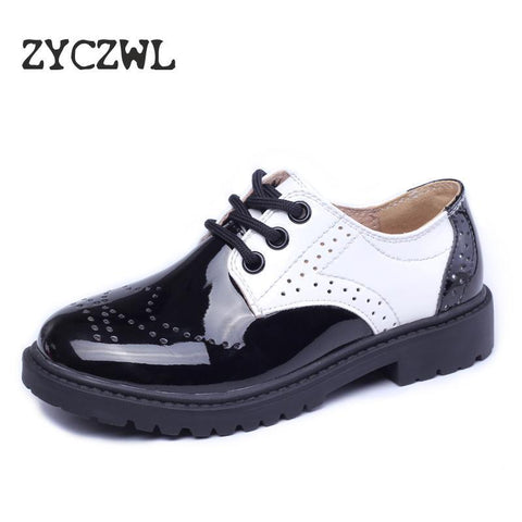 Children's Genuine Leather Oxfords/Dress Shoes