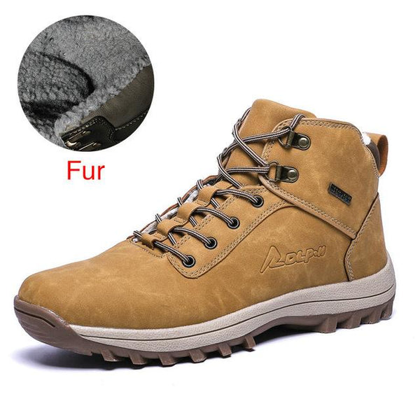 Men's Genuine Leather Work Boots