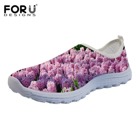 Women's Flower Design Loafers/Flats (different prints available)