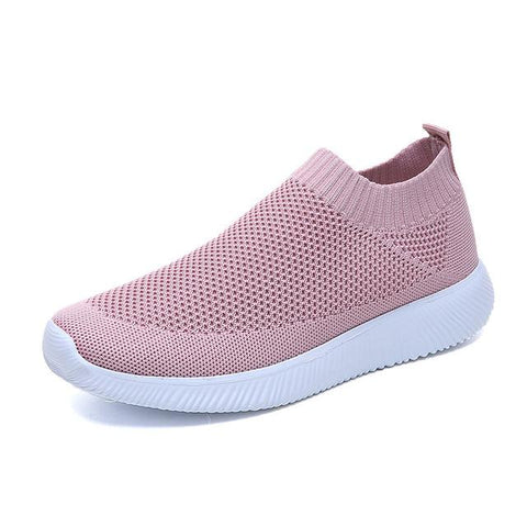 Women's Knitted Slip-On Sneakers
