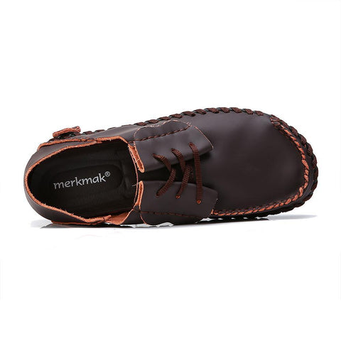 Men's Leather Moccasins - The Shoe Shelf