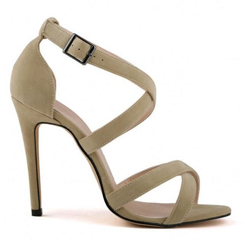 Women's Strap High Heels - The Shoe Shelf