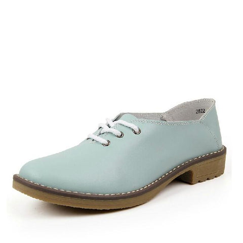 Women's Leather Oxford Shoes