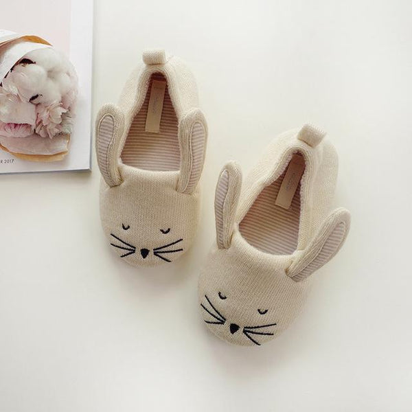Kids Cute Animal-Shaped Slippers