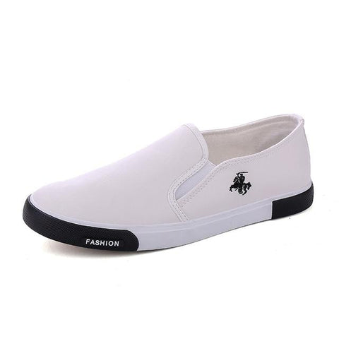 Men's Leather Slip On Loafers/Flats