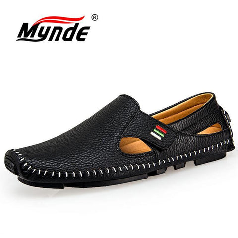 Men's Fashion Hook & Loop Loafers/Flats