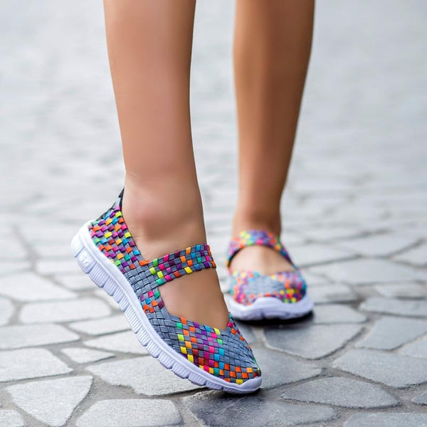Women's Breathable Woven-Fabric Shoes