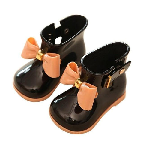 Cute Jelly Waterproof Rain Boots for Girls - The Shoe Shelf