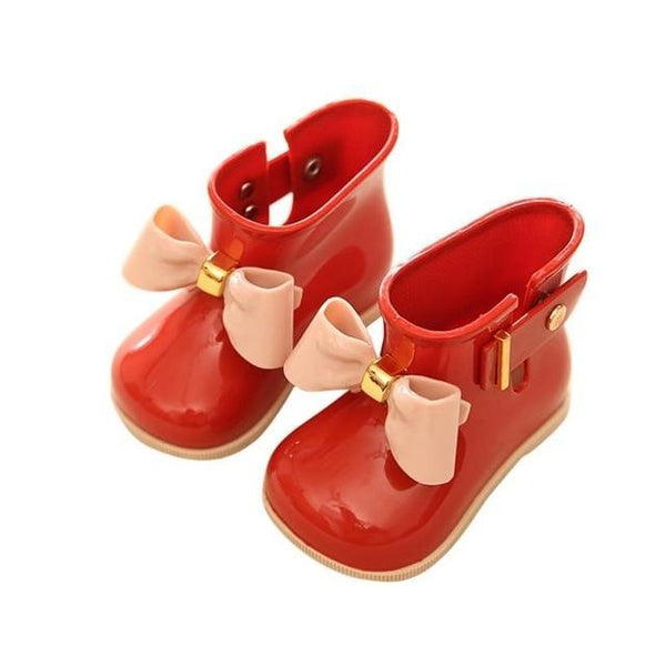 Cute Jelly Waterproof Rain Boots for Girls