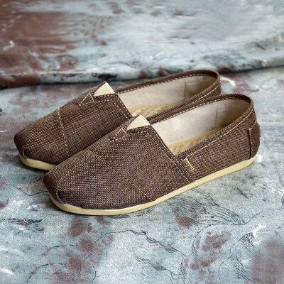 Men's Low-Top Canvas Loafers