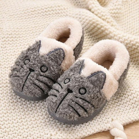 Girls Fluffy & Soft Animal Slippers