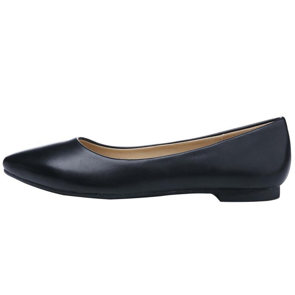 Women's Casual/Comfortable Leather Flats - The Shoe Shelf