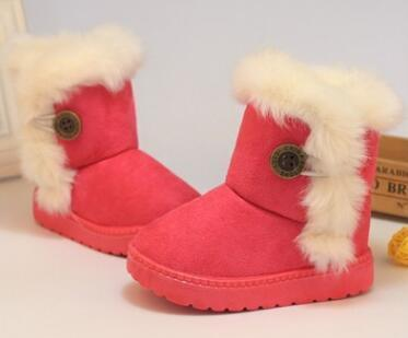 Warm Fuzzy Boots for Girls - The Shoe Shelf