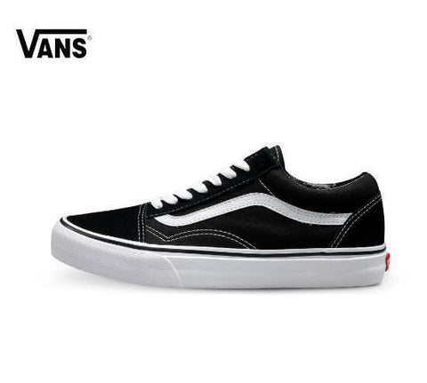 Vans Old Skool Men's and Women's Skateboarding Shoes - The Shoe Shelf