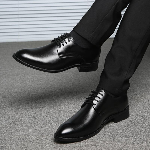 Men's Microfiber Leather Oxfords