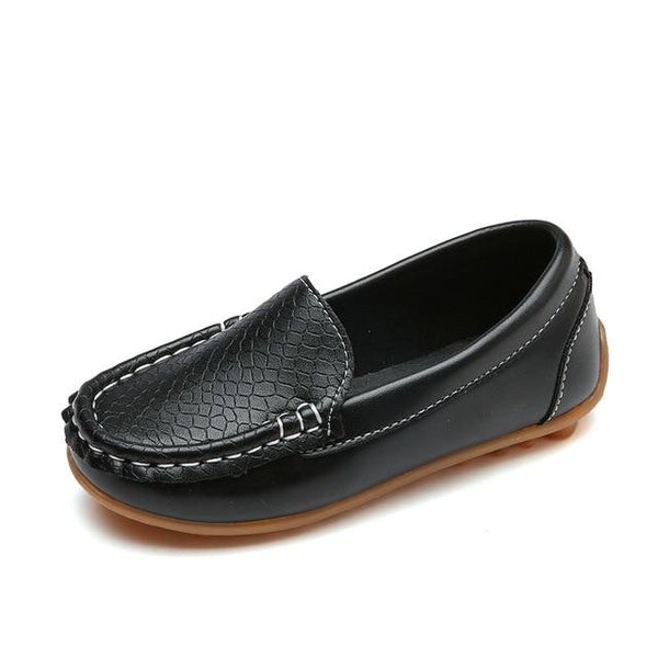 Children's Solid Color Flats/Loafers