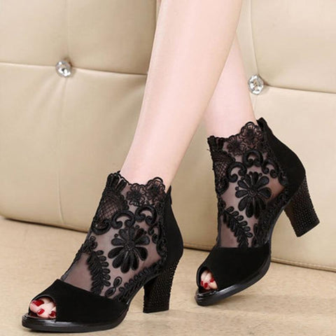 Women's Mesh Heels (different styles available)