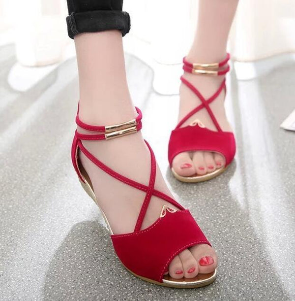 Women's Open Toe X Sandals
