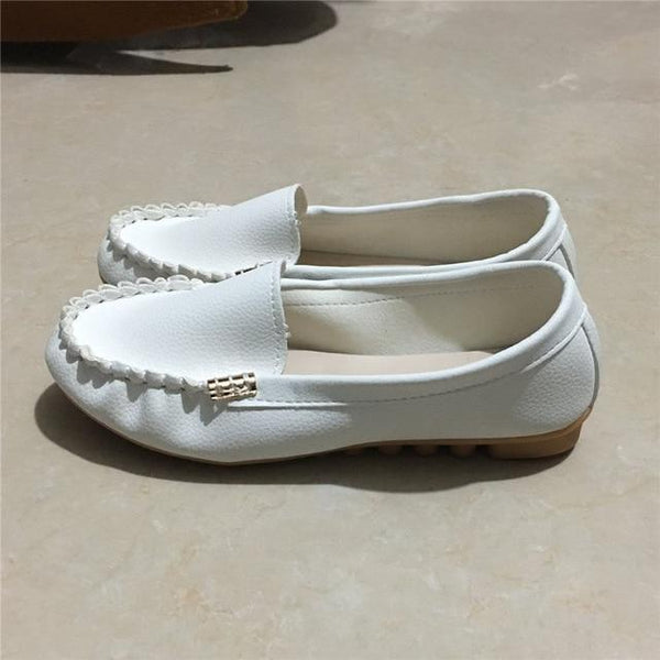 Women's Solid Color Loafers