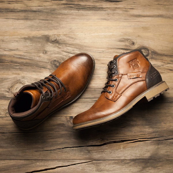 Men's Motorcycle Boots/Oxfords