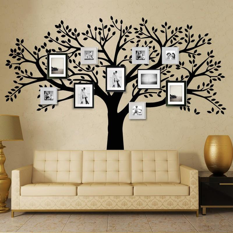 Wonderful Family Photo Tree Wall Decal