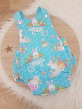 Size 000 Baby Romper - Easter Bunny / Blue