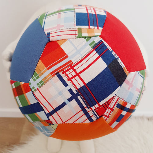 Balloon Ball Cover - Plaid