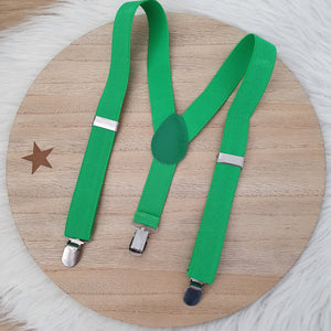 GREEN Baby / Kids Adjustable Suspenders